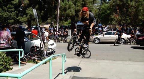 BMX – MASSIVE EAST LA STREET RIDE