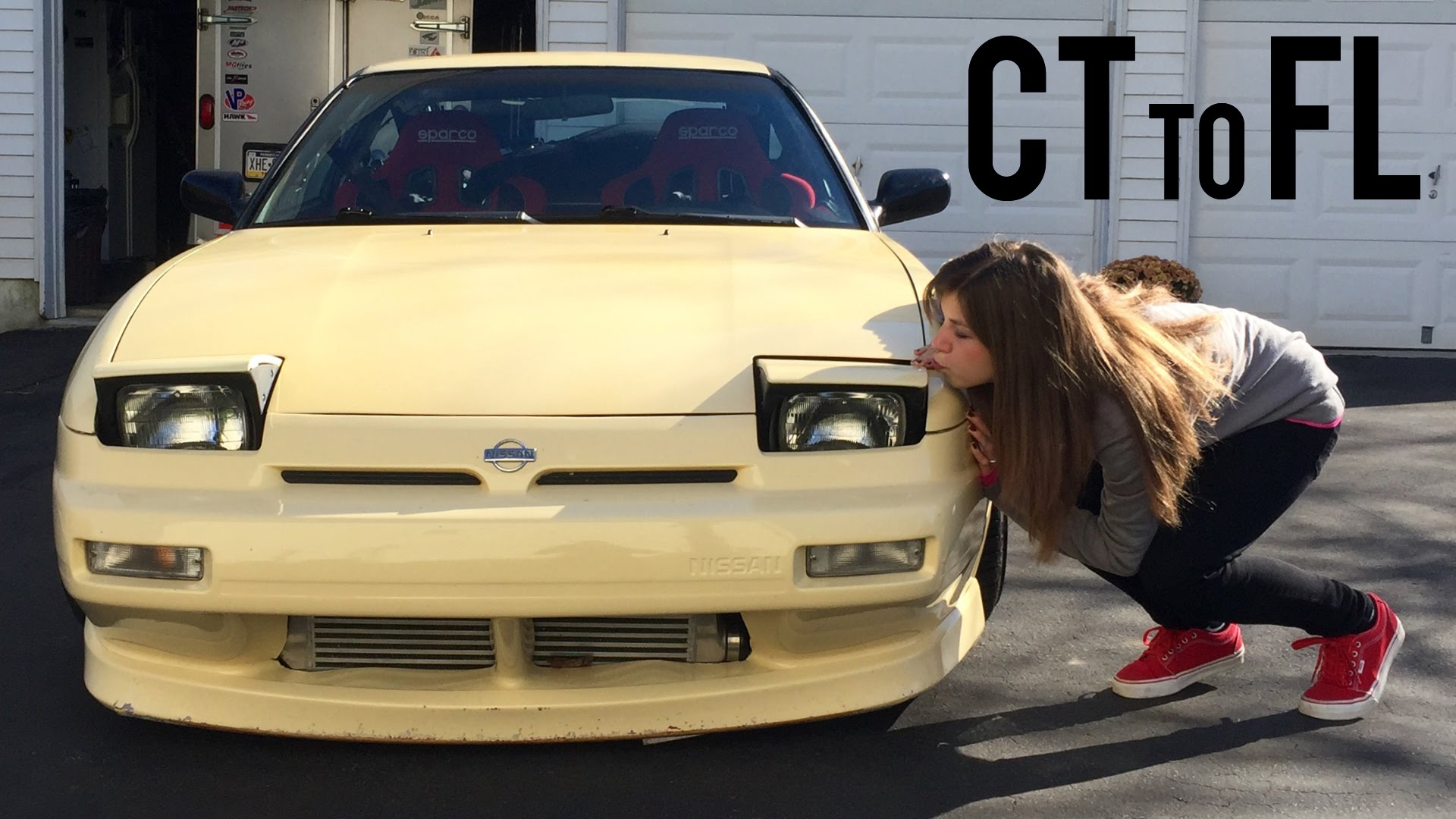 Webisode 2-3: Cross-Country in our 240sx (BMX)