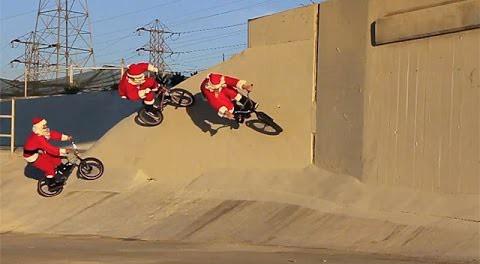 BMX – Rad Santa