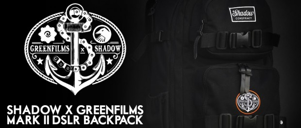 DSLR Backpack – Shadow X Greenfilms Collaboration