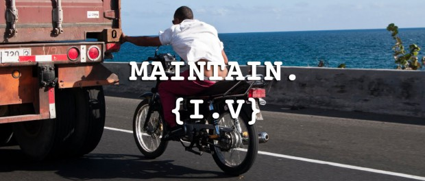 MAINTAIN I.V TRAILER