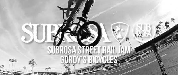 Subrosa Street Rail Jam – Gordy's Bicycles