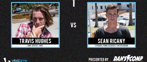 Travis Hughes vs Sean Ricany – Vital BMX Game of BIKE: Street