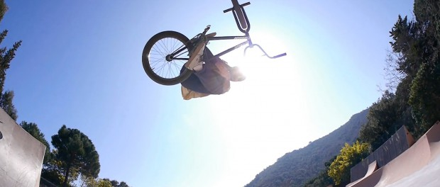 BMX: Some Fun Clips in Spain – Alex Valentino