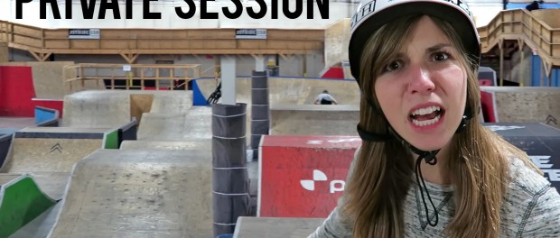 Webisode 56: Private Session at the CRAZIEST Skatepark (Bike Only)