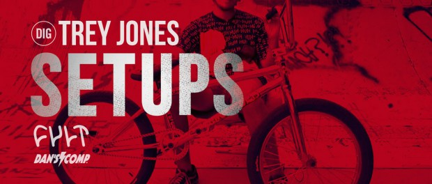 BIKE CHECK – Trey Jones Cult Setup – DIG BMX