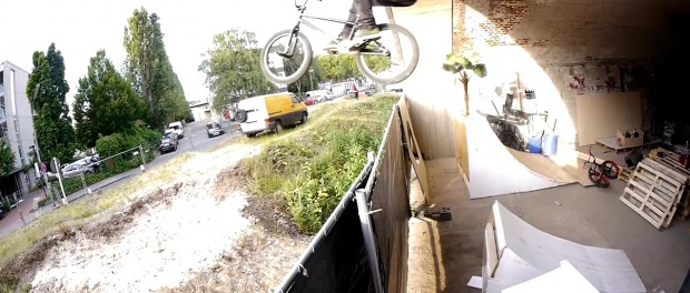 BMX: The Crazy Fence Gap! (Jan Beckmann)