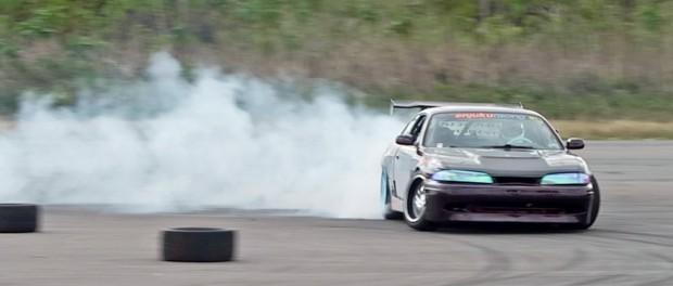 Drift Event #4: Sliding my 335i and an LS1 Racecar