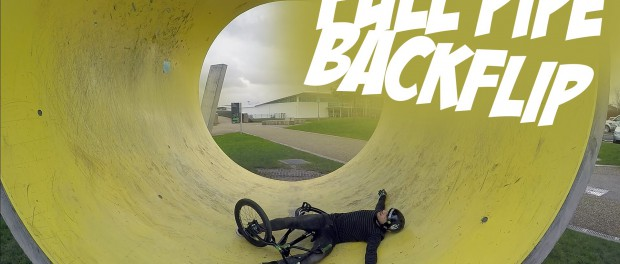 FULLPIPE BACKFLIP | Riding BMX #2