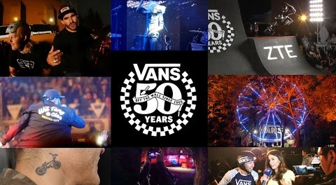 BMX, Wu-Tang, and the Vans 50 Year Party