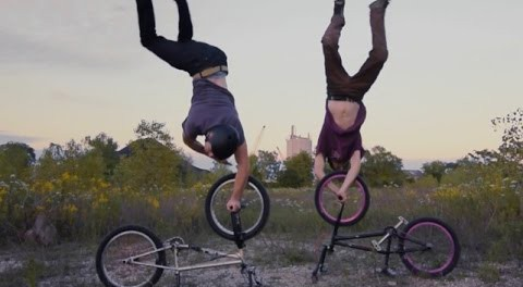 Experimental BMX Freestyle Bike Tricks – Tim Knoll & Pat Fisher