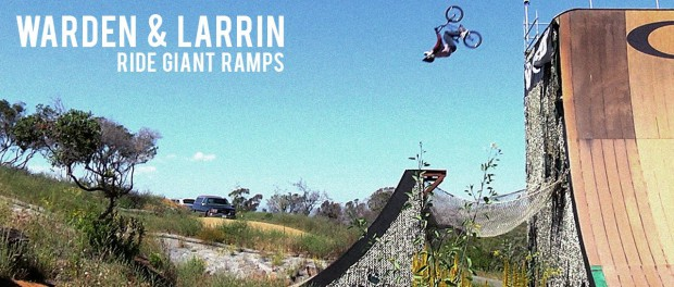 Warden and Larrin Ride Giant Ramps