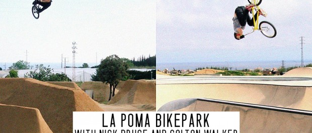 Barcelona's BMX Dirt + Park Paradise with Nick Bruce and Colton Walker