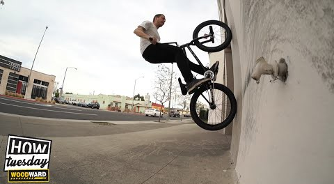 BMX: How-to – Fakie Wallrides w/ Mike Hinkens