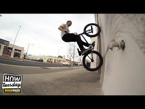 BMX: How-to – Fakie Wallrides w/ Mike Hinkens