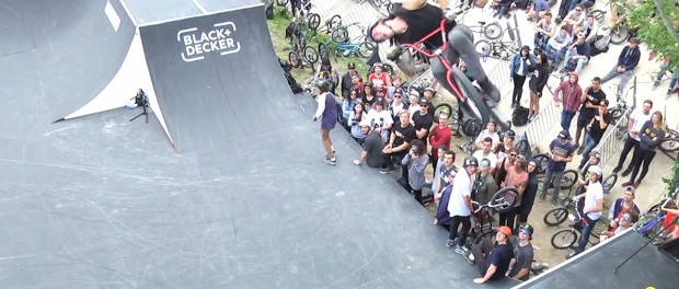 Perfect Double Flair at FISE by Ryan Taylor