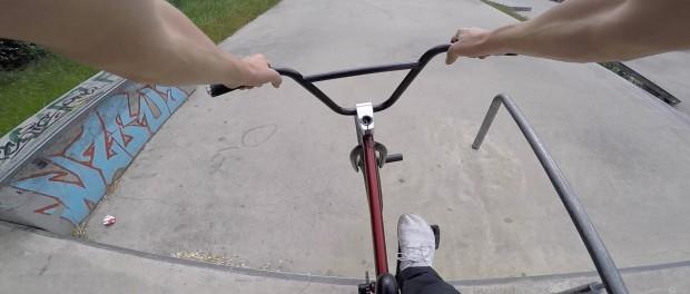 POV BMX Bike Riding in Skateparks / Webisode 1
