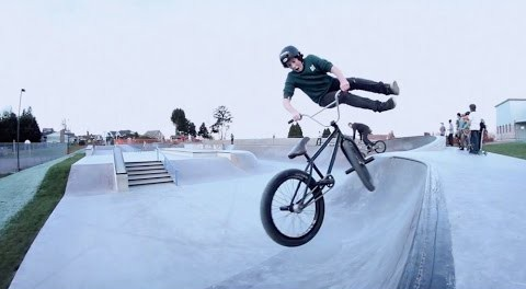 14 Year Old BMX Rider, Lochlainn O'Leary is Back!