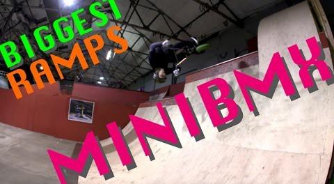 BIGGEST Ramps on the MINIBMX | Harry Main