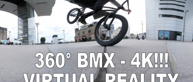 BMX Bike Riding – 360 VR Video / Virtual Reality in 4K! TEST!