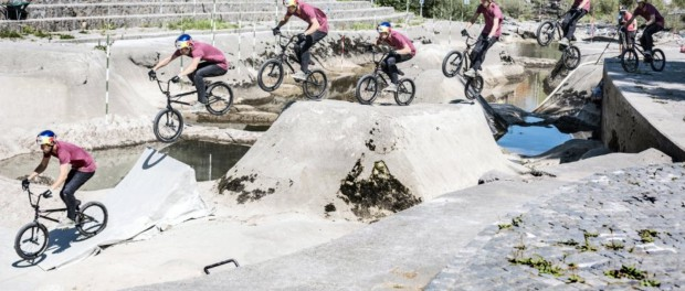 BMX Freestyle – Red Bull Riverbed Trails Video!
