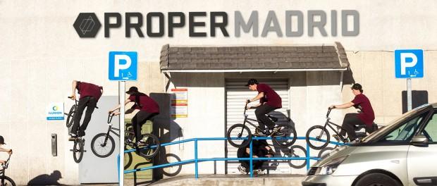 BMX – PROPER BIKES MADRID TRIP