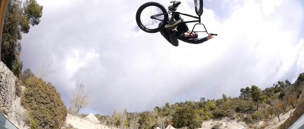 BMX Ramp in the Mountains! Stefan Lantschner & friends!