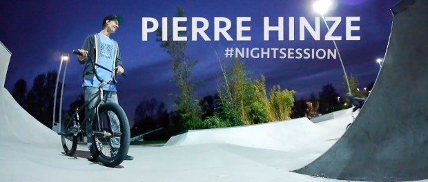 BMX Skatepark Nightsession – Pierre Hinze in Hamburg