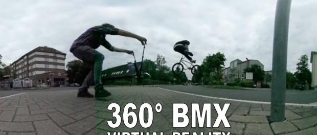 BMX Street Riding – 360 VR Video / Virtual Reality