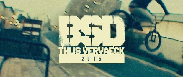 BSD BMX – Thijs Vervaeck 2015