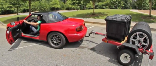 Driving Cross-Country in a Miata!?