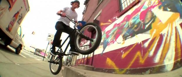 Eclat BMX: Julian Arteaga in New York City.