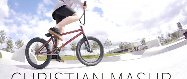 Fun in the Skatepark with Christian! #BMX