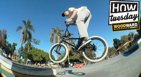 How-Tuesday: Feeble 180-Barspins w/ Grant Germain | RideBMX