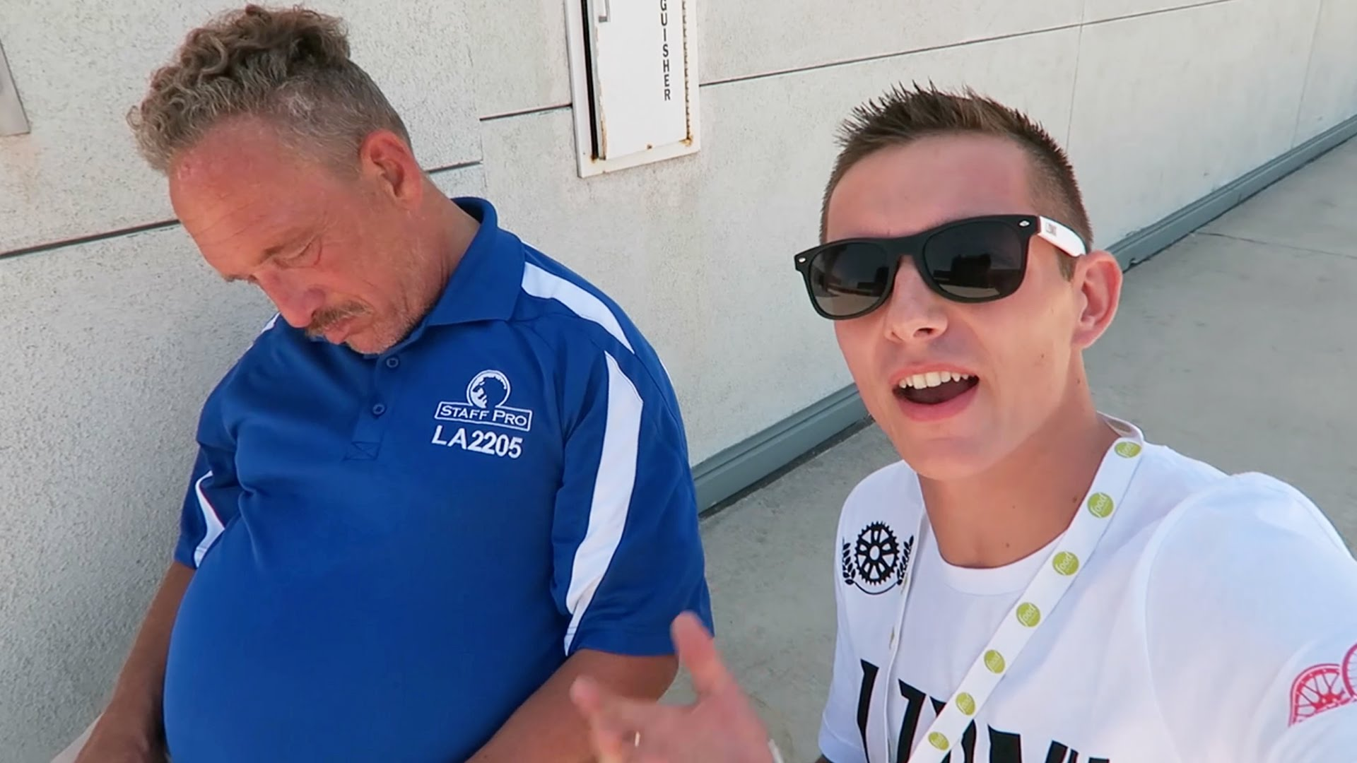 MESSING WITH SLEEPING SECURITY – VIDCON