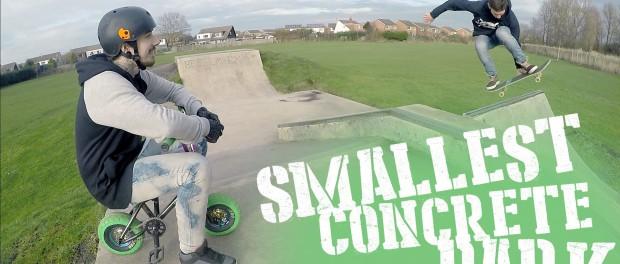 """""""MINI BIKE MISSIONS"""" #2 : Smallest Concrete Park!"""
