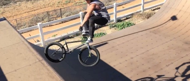 Pat Casey Destroys his Backyard Ramp