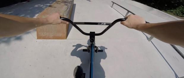 POV BMX BIKE riding in epic Skatepark / Webisode 2