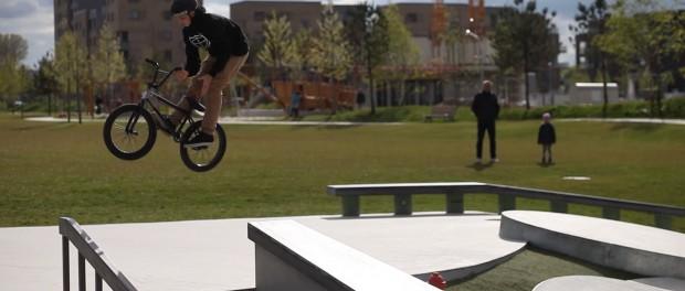Skatepark Clips with Angelo Kurtz (BMX)