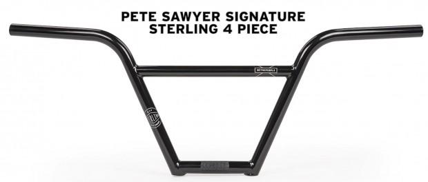 WeThePeople BMX : Pete Sawyer Sterling 4pc Bar Promo