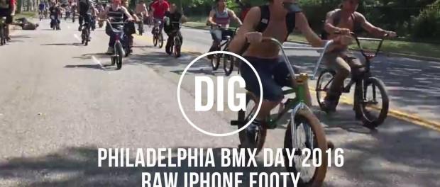 2016 PHILADELPHIA BMX DAY / STREET SERIES – RAW iPHONE FOOTY