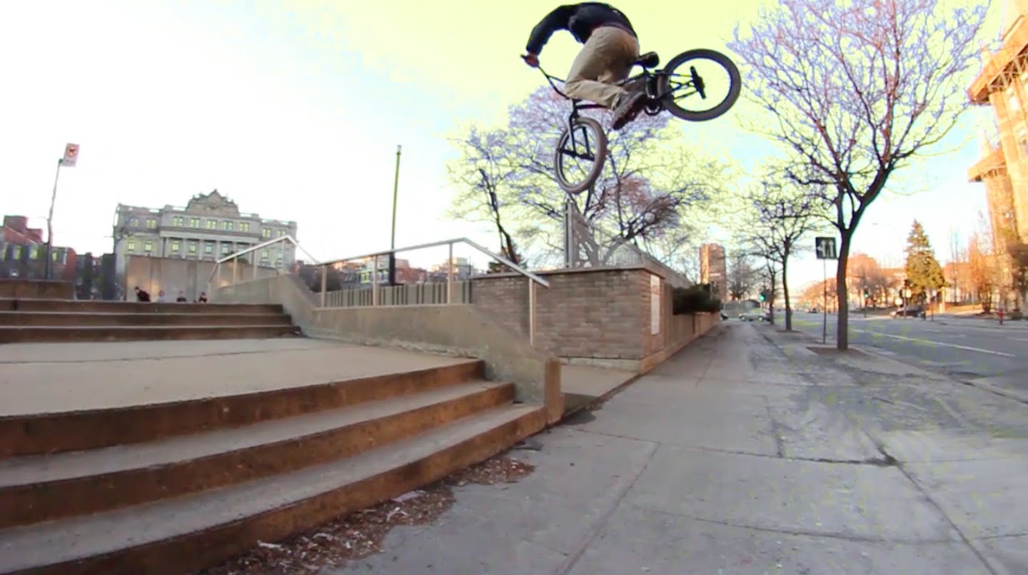 BMX – 1 Day in Montreal with Joel Marchand