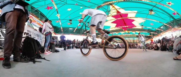 BMX Cologne / Flatland in 360 VR virtual reality / 4K!!