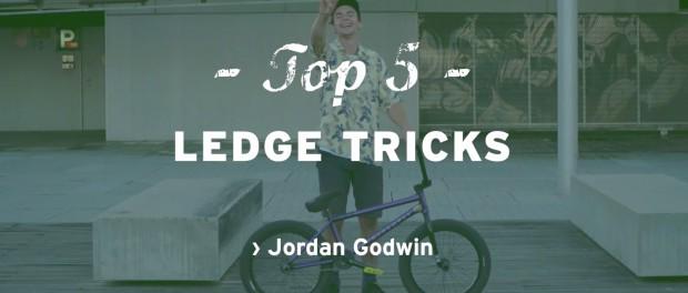 Wethepeople BMX: Jordan Godwin's Top 5 Ledge Tricks