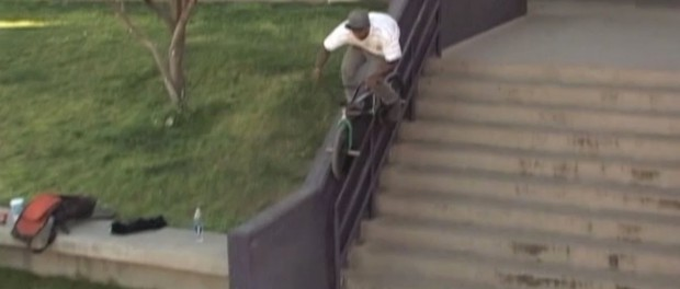 """BMX – CLAY JOHNSON IN BLUNTED'S """"FOREVER ROLLING"""" DVD"""