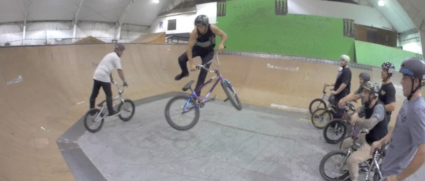 BMX OLYMPIC CHALLENGE FOOT DOWN!