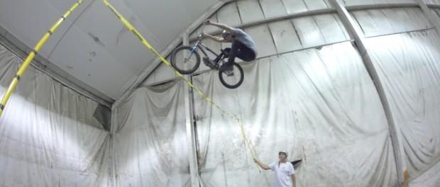 BMX OLYMPIC CHALLENGE HIGH JUMP!