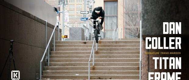KINK BMX – Dan Coller Titan Frame Colorway Video Part