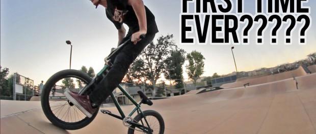New BMX Tricks at Woodward West!