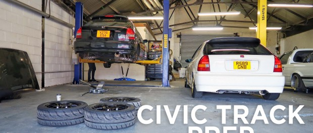 Track Prepping the Civic